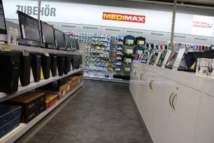 MEDIMAX in der Neustadt bietet eine tolle Auswahl zu fairen Preisen. Foto: Franziska Sommer