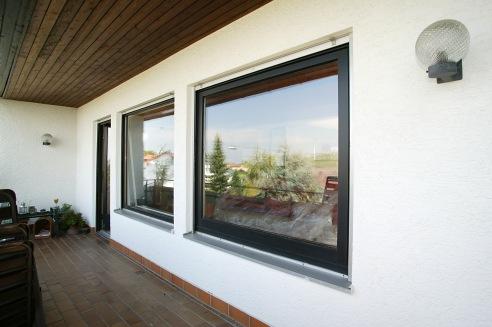 So sehen die neuen Fenster von außen aus.