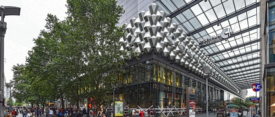 Die Centrum Galerie Dresden in der Prager Straße. (Foto: Holm Helis)