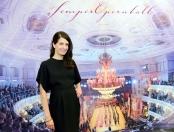 Den Semperopernball 2017 moderiert Linda Zervakis von der Tagesschau. Foto: Petra Hornig