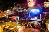 Das diesjährige Stadtfest blieb weitestgehend friedlich. Foto: Michael Schmidt