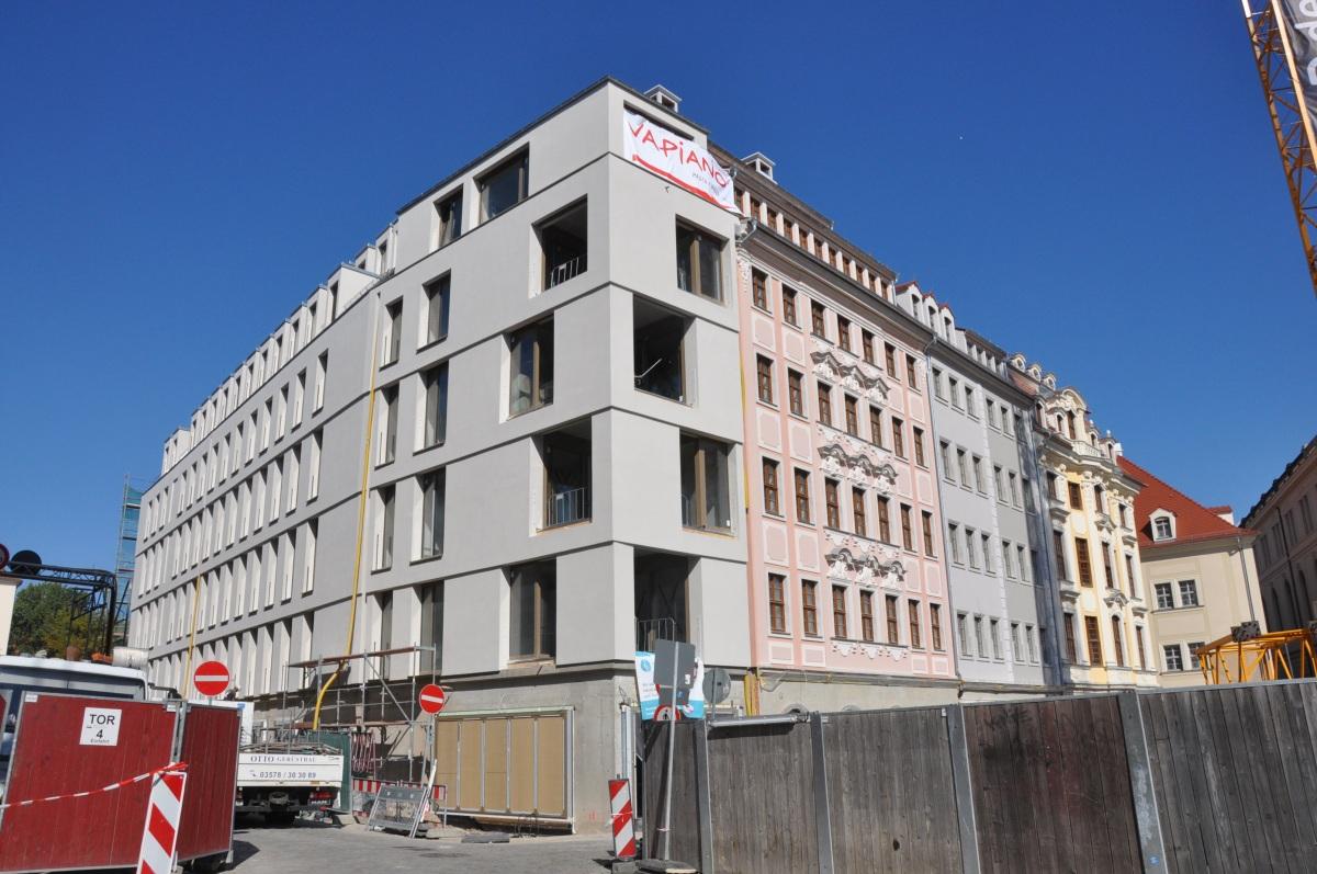 Verein findet moderne architektur am neumarkt trist dawo - Dresden architektur ...