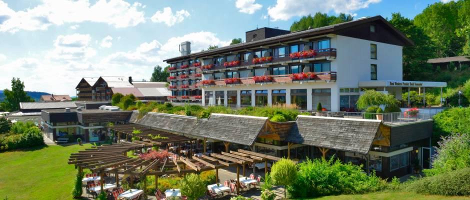 Das Hotel Sonnenhof lädt zum Entspannen im Bayerischen Wald ein. Foto: PR