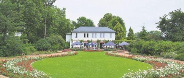 Der Rosengarten ist bei Dresdnern beliebt. Foto:Wolf