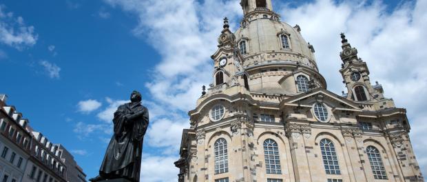 Die Dresdener Frauenkirche ist zu sehen. Foto: Arno Burgi/Archiv