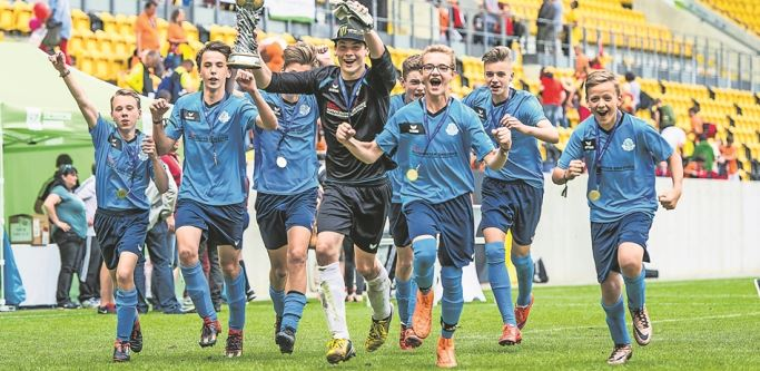 Im vergangenen Jahr holte sich die SG Weißig mit Zypern den Titel. Foto: Thomas Friedemann