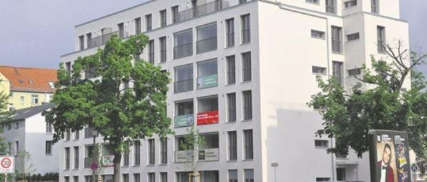 Neubau an der Dresdner Lößnitzstraße Foto: Una Giesecke