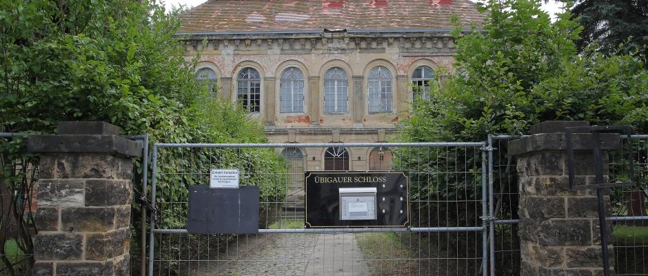 Schloß Übigau wartet seit Jahren auf eine Sanierung, Foto: Ove Landgraf
