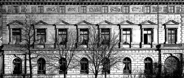 Repräsentative Sandsteinfassade des früheren Palais Kaskel-Oppenheim Quelle: wikipedia