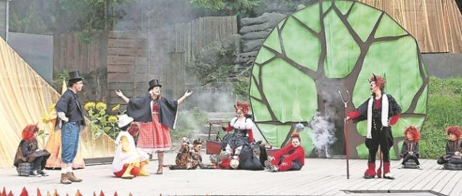 Auf der Felsenbühne erlebt Lackys Familienmusical in diesem Sommer seine Uraufführung. Foto: Landesbühnen