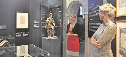 Die Dresdner Schlosskapelle zeigt eine Wanderausstellung zum mystischen Philosophen Jacob Böhme. Foto: Una Giesecke